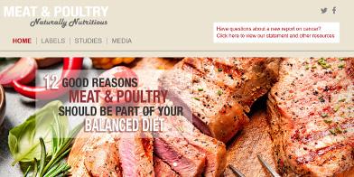La viande, la volaille et la nutrition