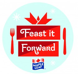 Feast it Forward with Maple Leaf and Share your Holiday Meal with 50,000 Families in Need