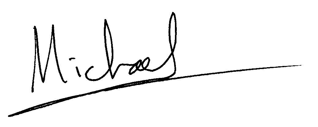 Michael H. McCain's signature