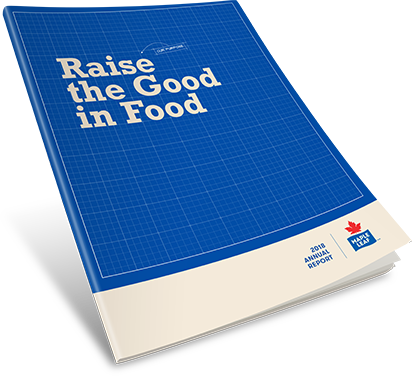 Maple Leaf Foods – 2018 Annual Report cover