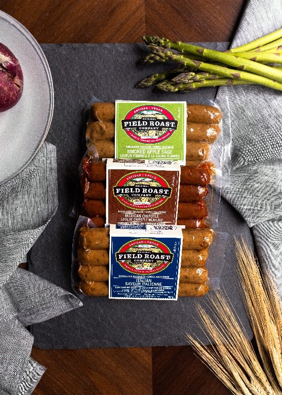 Field Roast Grain Meat Co plant-based sausages