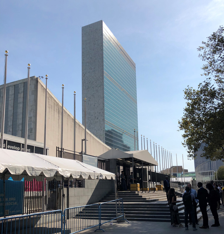 UN Climate Action Summit at the UN Headquarters