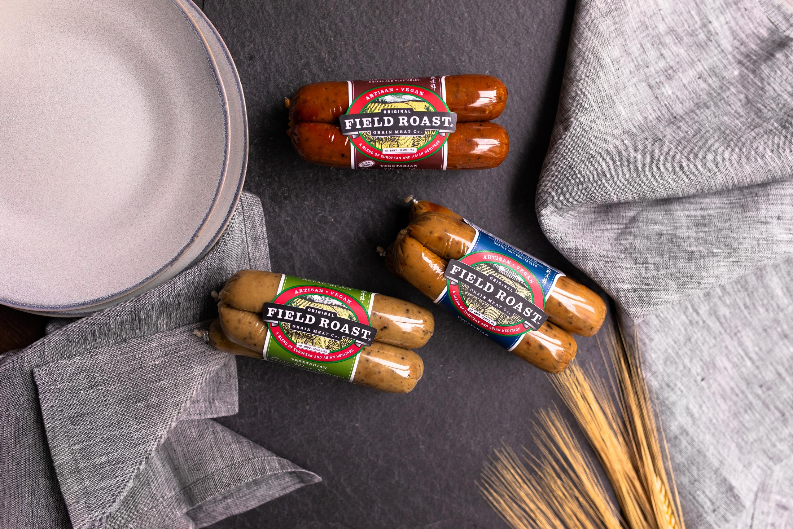 Field Roast sausage trio